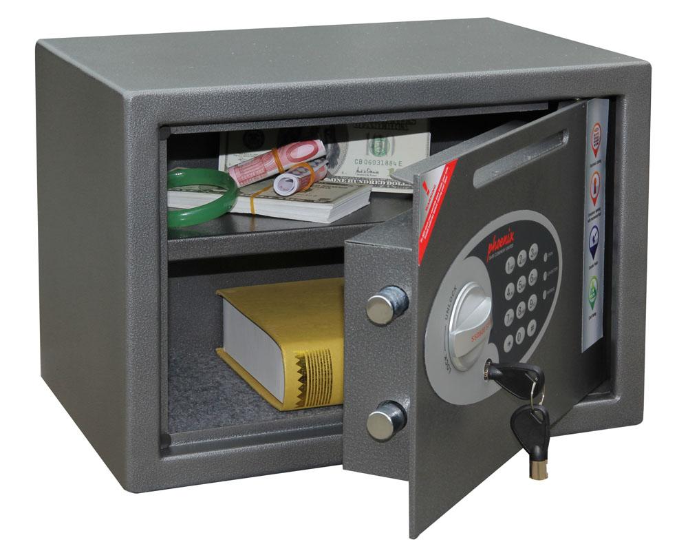 vela deposit safe ss0802ed phoenix safe. Black Bedroom Furniture Sets. Home Design Ideas