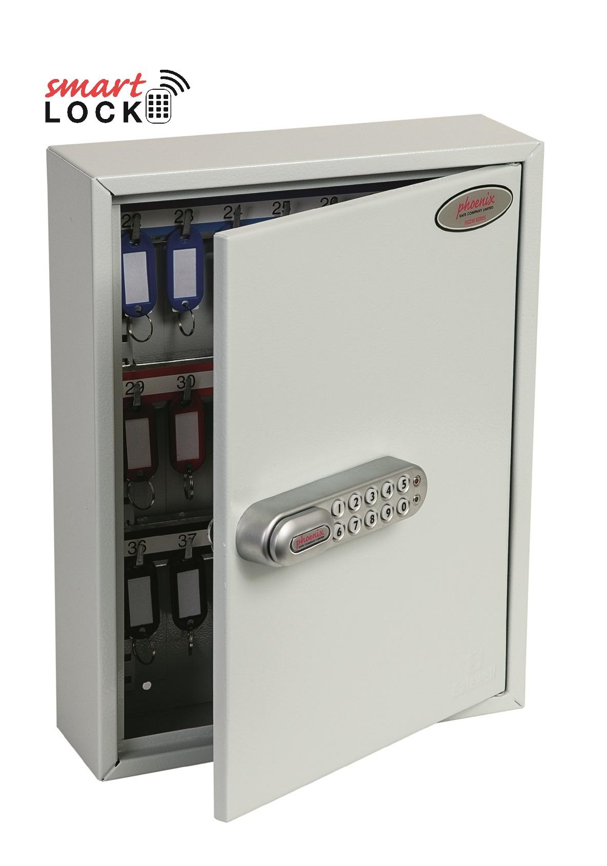 KC0601N Professioneller Schlüsselschrank mit Netcode1000 | Phoenix Safe